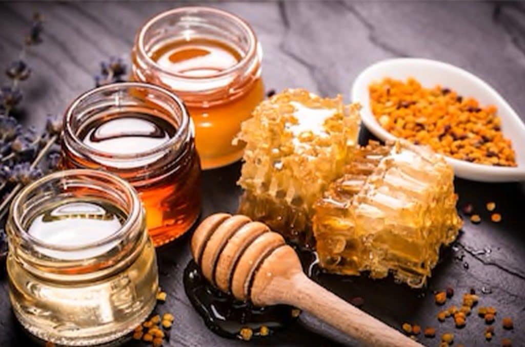 Les miels cicatrisant