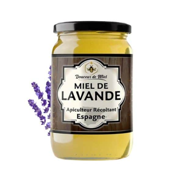 Miel de lavande d'Espagne