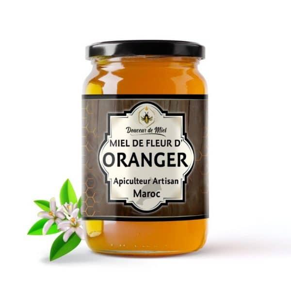 miel d'oranger du maroc