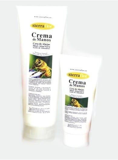Crème hydratante pour les mains à la cire d'abeille 100ml